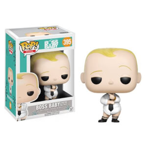 Boss Baby Diaper and Tie Version Funko Pop! Vinyl
