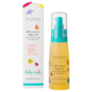The Jojoba Company 100% Natural Baby Oil 3.3 fl oz
