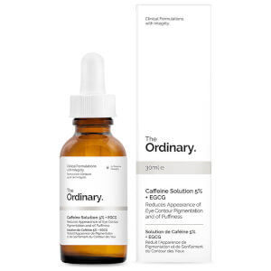 Solution de Caféine 5 % + EGCG The Ordinary 30 ml