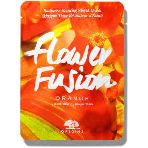 Origins Flower Fusion™ Hydrating Sheet Mask - Appelsinblomst