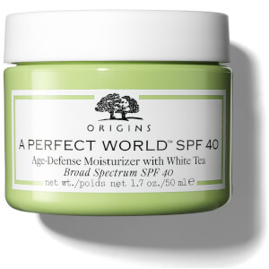 Soin Hydratant Prévention Anti-Âge au Thé Blanc SPF 40 A Perfect World™ Origins 50 ml