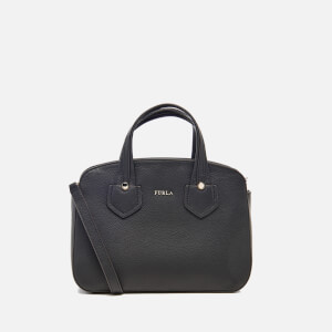 Furla Women's Giada Small Tote Bag with Zip - Black