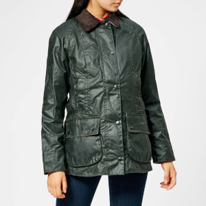 Barbour Women's Beadnell Wax Jacket - Sage