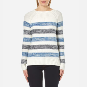 Barbour Women's Dock Knitted Jumper - Blue Stripe