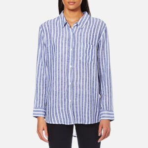 Rails Women's Charli Stripe Shirt - Parisian Blue