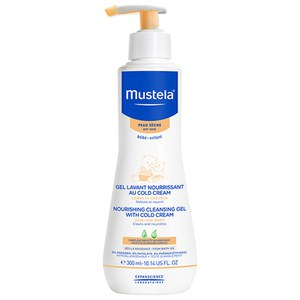 Mustela Nourishing Cleansing Gel with Cold Cream 10.1 oz.
