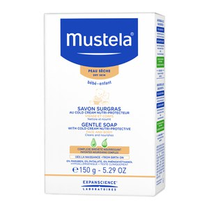 Mustela Gentle Soap with Cold Cream Nutri-Protective 5.29 oz.