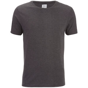 Smith & Jones Men's Purlin 2 Pack T-Shirt - Charcoal/Burgundy: Image 3