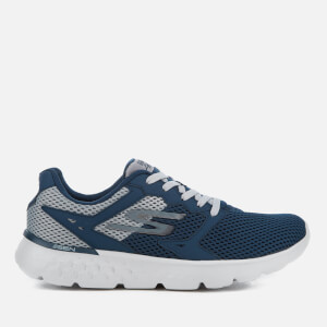 Skechers Men's Go Run 400 Trainers - Navy/Grey