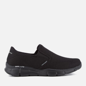 Baskets Homme Equalizer Double-Play Skechers - Noir