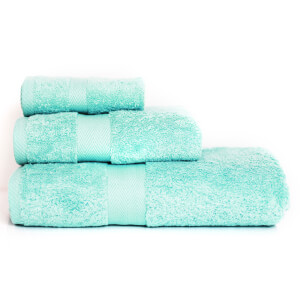 Restmor 100% Egyptian Cotton 3 Piece Luxury Towel Bale (600GSM) - Seafoam