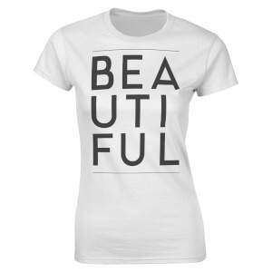 T-Shirt Femme Beautiful Valentines -Blanc
