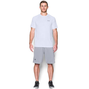 Under Armour Men's Novelty Tech T-Shirt - White/Steel