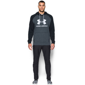 Under Armour Men's Sportstyle Triblend Pullover Hoody - Stealth Grey