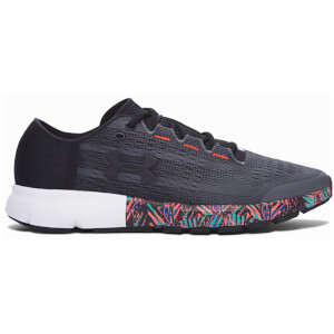 Under Armour Men's SpeedForm Velocity City Running Shoes - Black/Rhino Grey