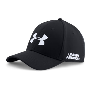 Under Armour Men's Golf Headline Cap - Black/White