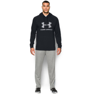 Under Armour Men's Sportstyle Triblend Pullover Hoody - Black
