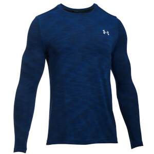Under Armour Men's Threadborne Seamless Long Sleeve Top - Blackout Navy