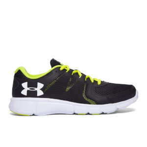 Under Armour Men's Thrill 2 Running Shoes - Black/Smash Yellow