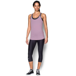 Under Armour Women's Fly By Racerback Run Tank - Fresh Orchid