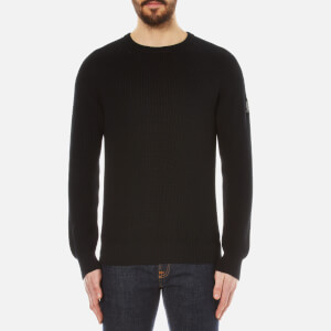 Belstaff Men's Parkland Crew Knitted Jumper - Black