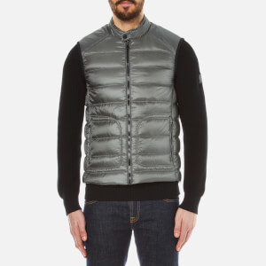 Belstaff Men's Harbury Vest Gilet - Ash Green