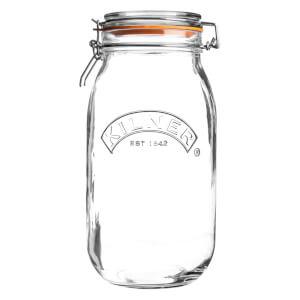 Kilner Clip Top Round Jar 1.5L
