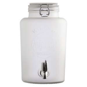Kilner Frosted Dispenser - White 5L