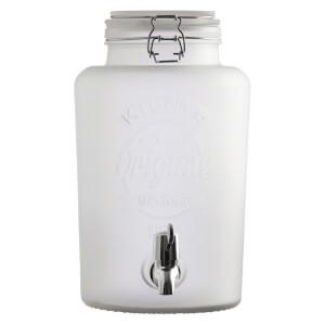 Kilner Frosted Dispenser - White 5L