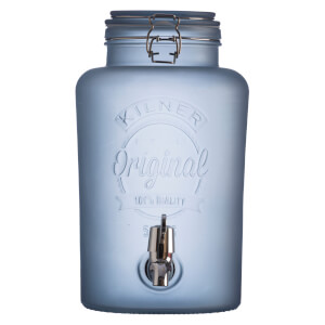 Kilner Frosted Dispenser - Blue 5L
