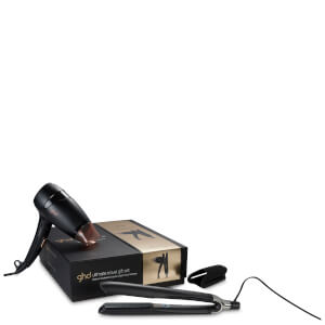 ghd Ultimate Travel ghd Platinum with ghd Flight Travel Hair Dryer Gift Set (Worth £214)