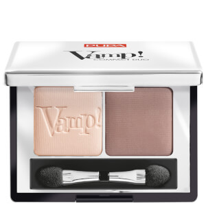 Vamp! PUPA Duo d'Ombres à Paupières Compact Eyeshadow Duo - Milk Chocolate