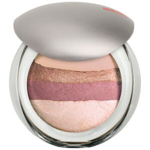 PUPA Luminys Baked All Over Illuminating Blush Powder - Rose Stripes