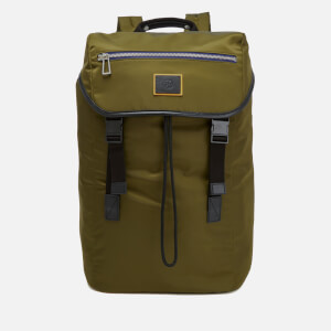PS by Paul Smith Men's Nylon Long Rucksack - Khaki