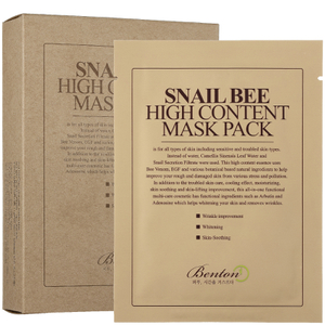 Masques au sérum Snail Bee High Content Benton (10 masques)