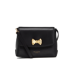 Ted Baker Women's Tessi Curved Bow Cross Body Bag - Black