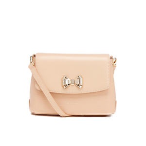 Ted Baker Women's Tessi Curved Bow Cross Body Bag - Taupe