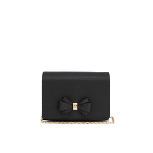 Ted Baker Women's Graciee Grosgrain Bow Clutch Bag - Black
