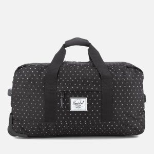 Herschel Supply Co. Wheelie Outfitter Travel Duffle Bag - Black Gridlock