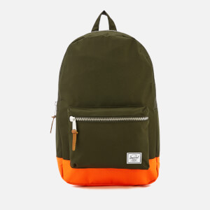 Herschel Supply Co. Settlement Backpack - Forest Night/Vermillion Orange