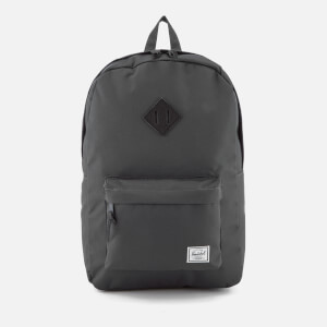 Herschel Supply Co. Heritage Backpack - Dark Shadow/Black Pebbled Leather
