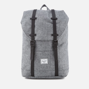 Herschel Supply Co. Retreat Mid-Volume Backpack - Raven Crosshatch/Black Rubber