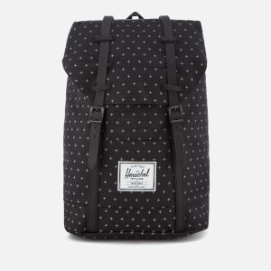 Herschel Supply Co. Retreat Classic Backpack - Black Gridlock/Black Rubber