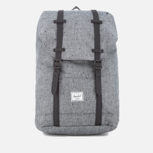 Herschel Supply Co. Retreat Mid-Volume Backpack - Scattered Raven Crosshatch/Black Rubber
