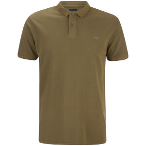 Polo Homme Kerman Threadbare - Kaki