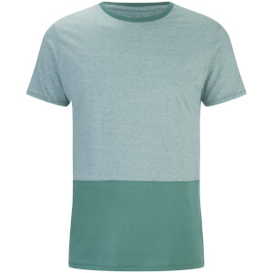 T-Shirt Homme Corning Panel Threadbare -Vert d'Eau
