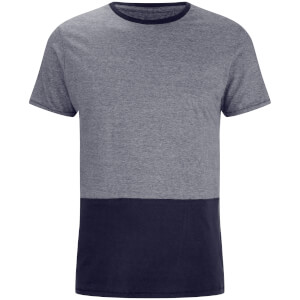 T-Shirt Homme Corning Panel Threadbare -Marine