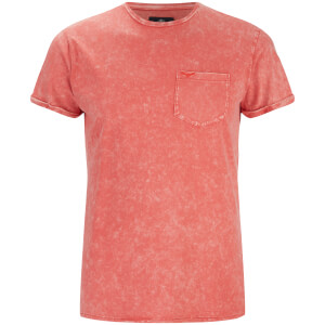 Threadbare Men's Eureka Pocket T-Shirt - Coral