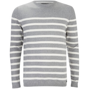 Threadbare Men's Robinson Crew Neck Jumper - Grey