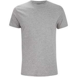 Threadbare Men's William Crew Neck T-Shirt - Grey Marl